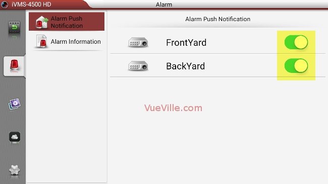 Set up alarm push notifications for your Hikvision IP camera - Image 10 - VueVille.com