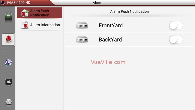 Set up Alarm Push Notifications for your Hikvision IP Camera