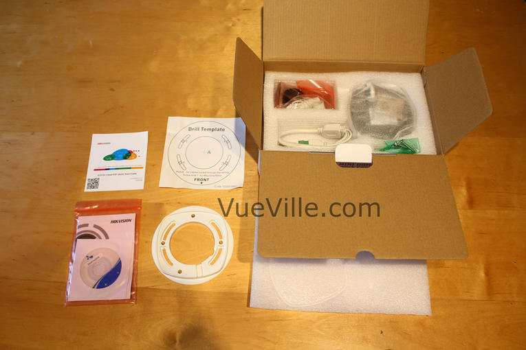 Hikvision DS-2CD2542F-IWS - Box Contents 1 - VueVille.com