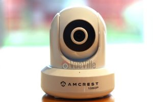 Amcrest ProHD IP2M-841B Wireless Indoor Pan-Tilt IP Security Camera - Front View - VueVille.com