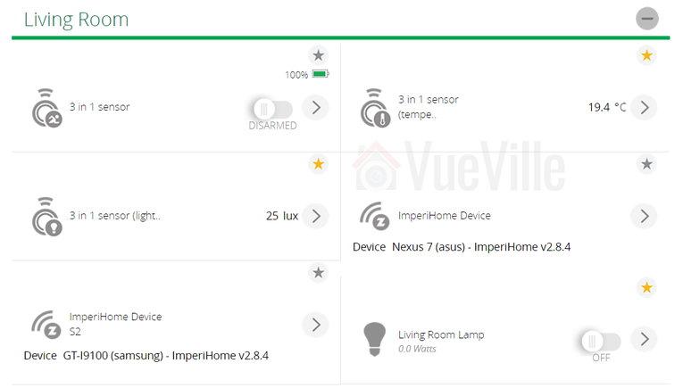 Fibaro ZWave Motion Sensor Multi-Sensor Vera Plus View - VueVille.com