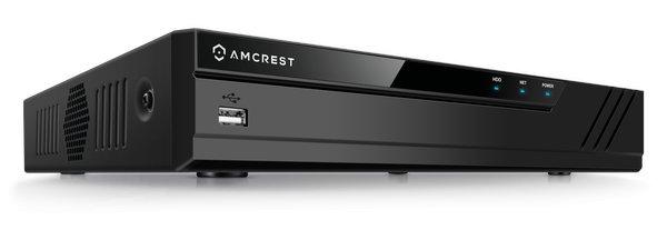 Amcrest AMNV20M4-4B-B Budget 4-ch NVR Kit - NVR - VueVille.com