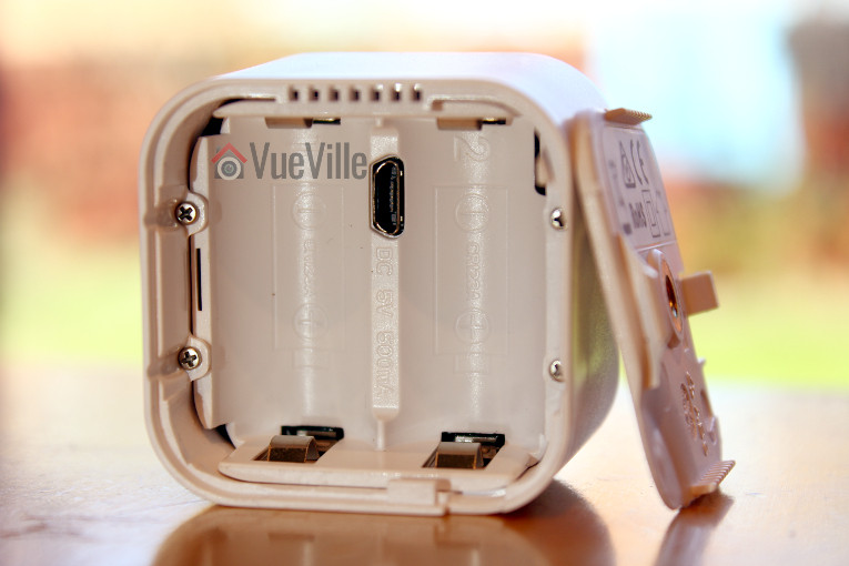 Aeon Labs Aeotec Multisensor 6 Review - Battery Cover Opened - VueVille