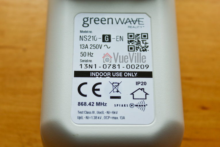 Greenwave 1-port Powernode - Back View - VueVille