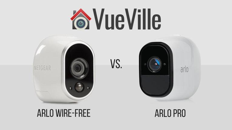 Arlo Pro vs. Arlo HD - VueVille