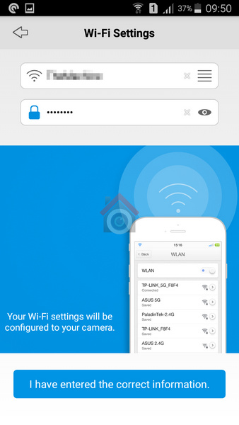 Reolink Argus Review - Setup - 6 - WiFi settings part1 - VueVille