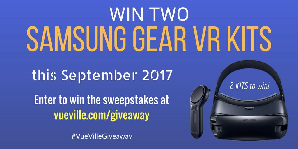 Win Gear VR - September 2017 - VueVille