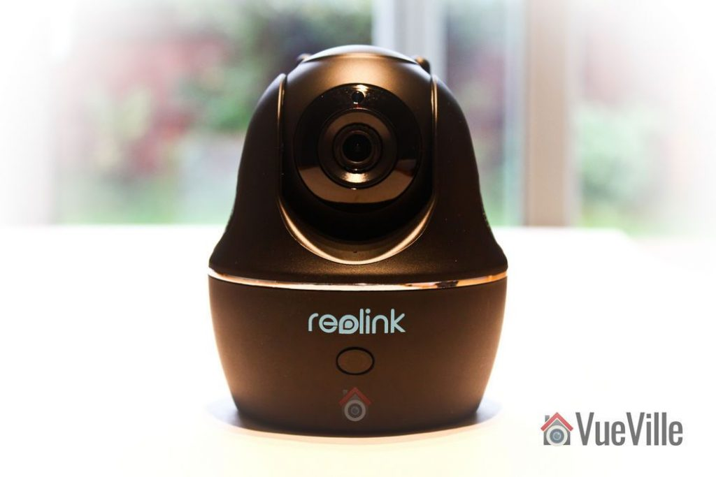 Front View - Reolink C1 Pro Review Pan-Tilt Indoor Security Camera - VueVille