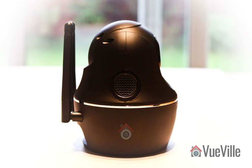 Side View 1 - Reolink C1 Pro Review Pan-Tilt Indoor Security Camera - VueVille