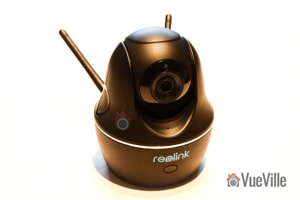 Iso view - Reolink C1 Pro Review Pan-Tilt Indoor Security Camera - VueVille