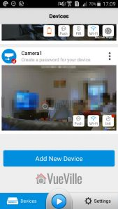Reolink App Initialization - Reolink C2 Pro Review Pan-Tilt Indoor Security Camera - VueVille