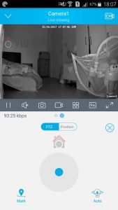 Reolink Android App PTZ Controls - Reolink C2 Pro Review Pan-Tilt Indoor Security Camera - VueVille