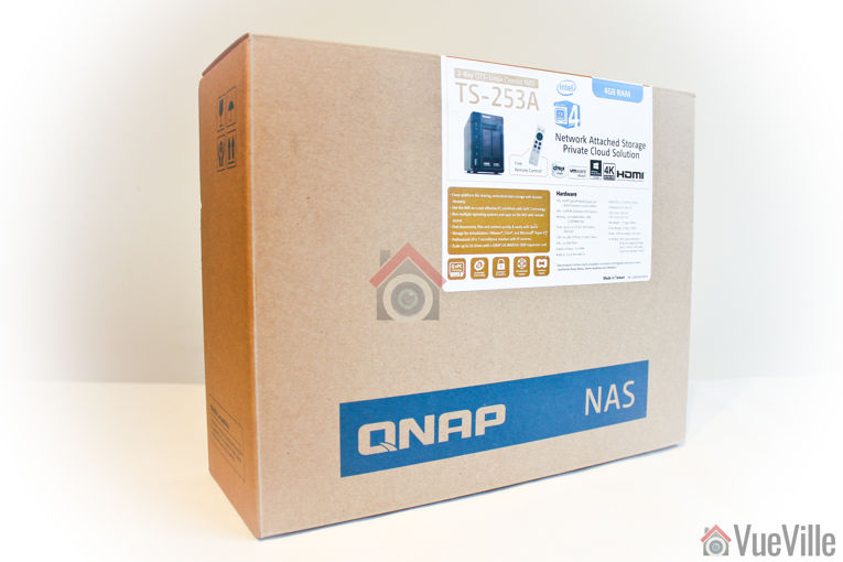 Review - QNAP TS-253A NAS - Box