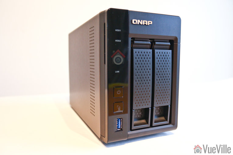 Review - QNAP TS-253A NAS - Front Left View