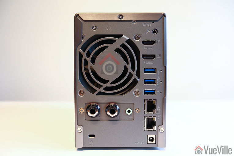 Review - QNAP TS-253A NAS - Rear View