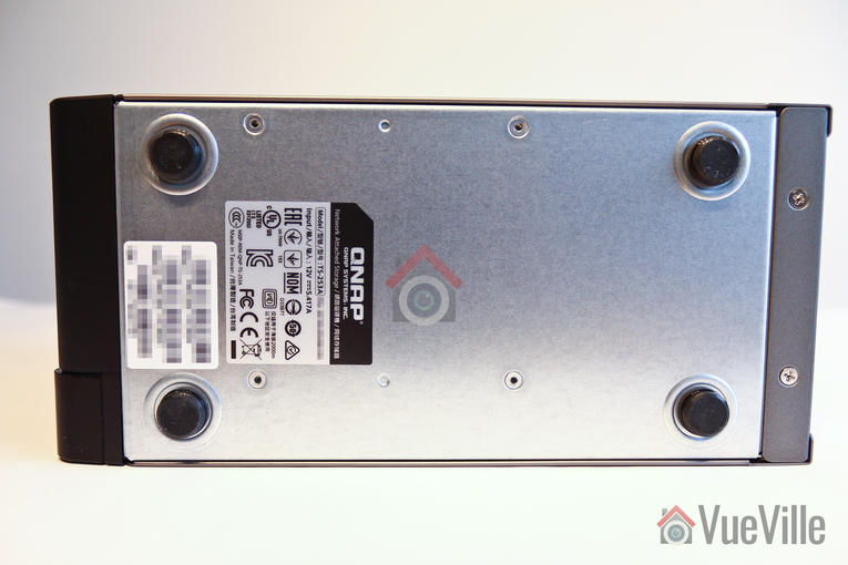 Review - QNAP TS-253A NAS - Underside View