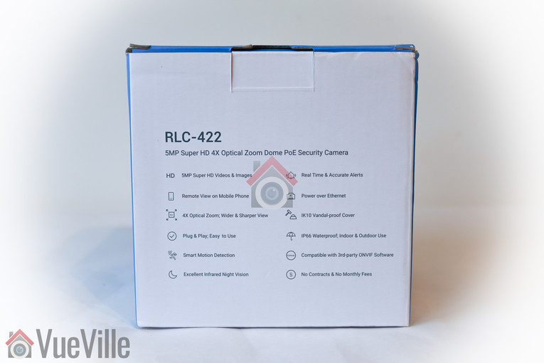 Review - Reolink RLC-422 - Box Rear - VueVille