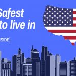 Top 5 Safest States to Live In - Heat Map of Crime in America - Map Infographic - VueVille
