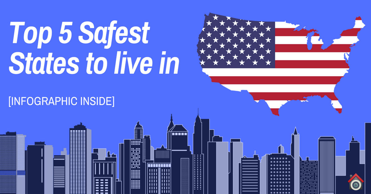 2018s Safest States To Live In Crime Heat Map Of America Vueville - Map-of-violent-crime-in-us