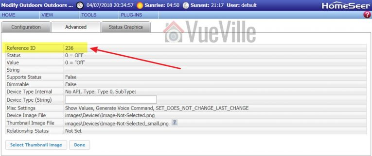 How to Connect QNAP NAS Surveillance Station to Homeseer - Step 2e - VueVille