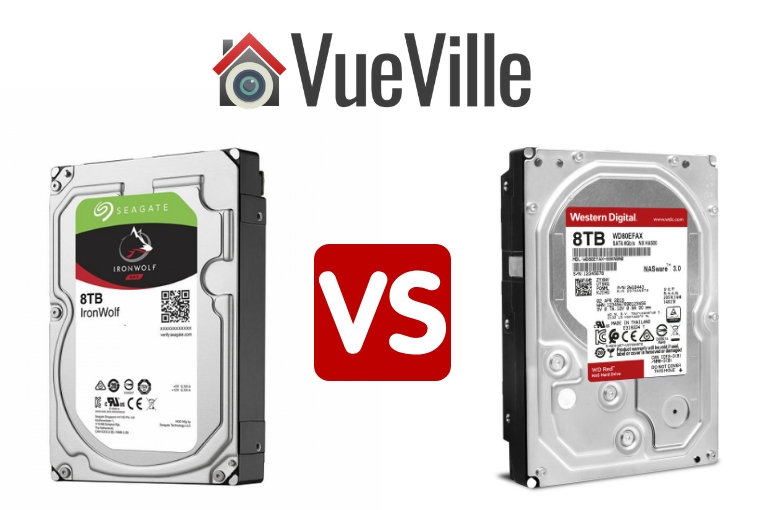 Seagate Ironwolf vs WD RED - VueVille