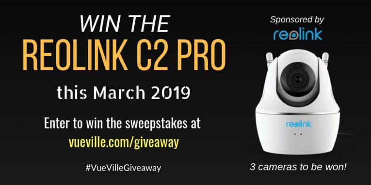 Win Reolink C2 Pro Mar 2019 - VueVille
