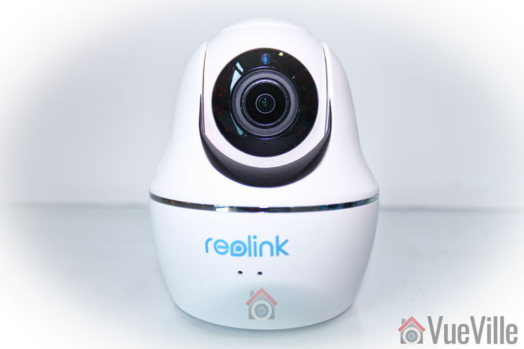 Review - Reolink C2 Pro PTZ Indoor Security Camera - Front View - VueVille