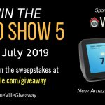 Win the new Amazon Echo Show 5 - JULY 2019 - VueVille
