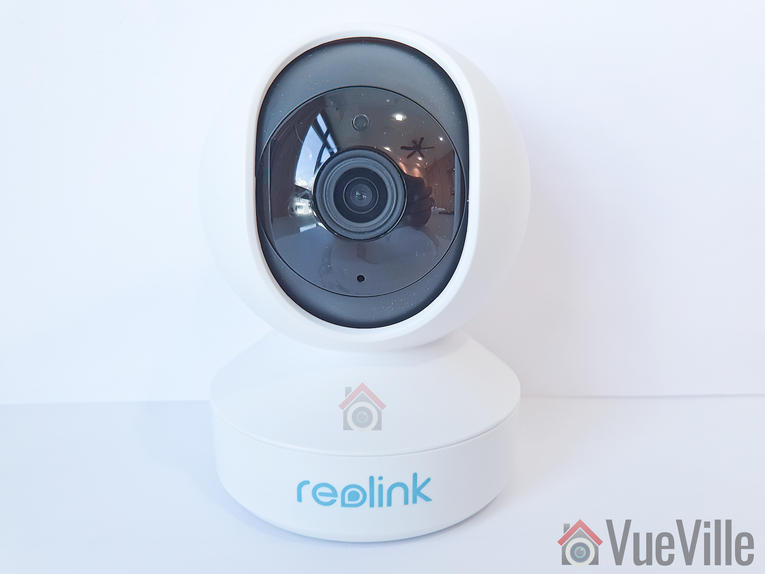 VueVille Review - Reolink E1 Pro PT Indoor Security Camera - Front view