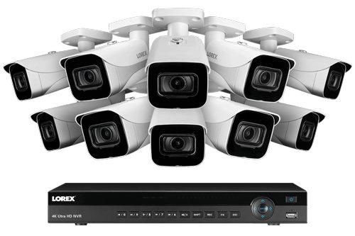 Lorex 4KHDIP1610 Best 16-ch NVR Kit - VueVille