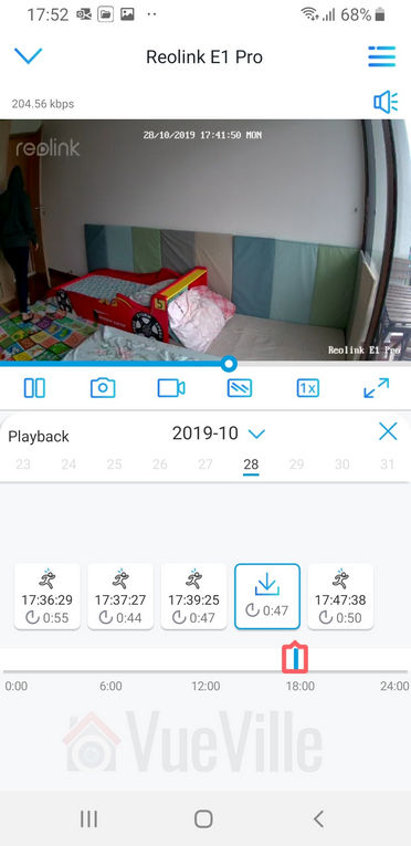 Review - Reolink E1 Pro PT Indoor Security Camera - App - 18