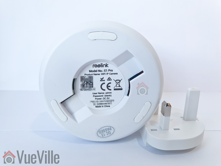 VueVille Review - Reolink E1 Pro PT Indoor Security Camera - Bottom view