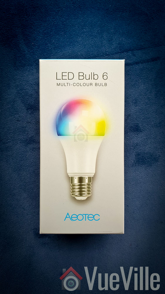 Hands-on Review - Aeotec LED Bulb 6 Z-Wave - Box Front - VueVille