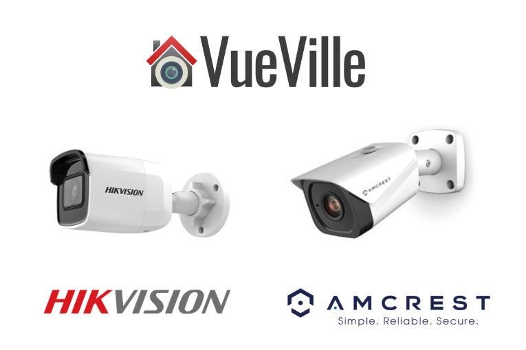Hikvision vs Amcrest - The Most Popular IP Cameras Compared - VueVille