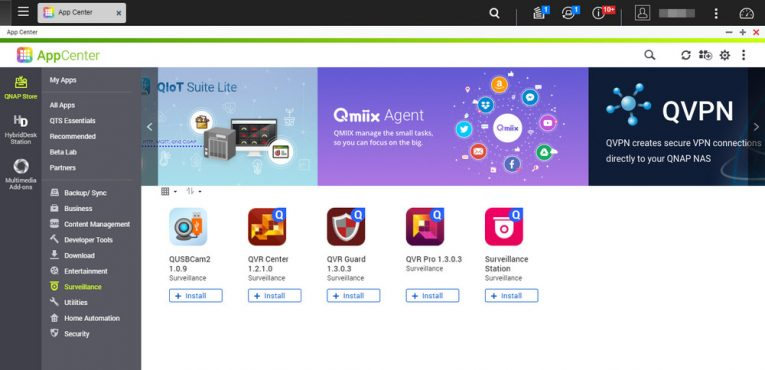 How to install QVR Pro Surveillance App on your QNAP NAS - Step 4 - VueVille
