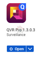 How to install QVR Pro Surveillance App on your QNAP NAS - Step 6 - VueVille