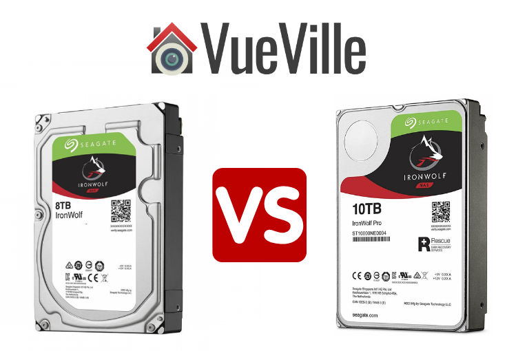Ironwolf vs IronWolf Pro - NAS Drives Compared - VueVille