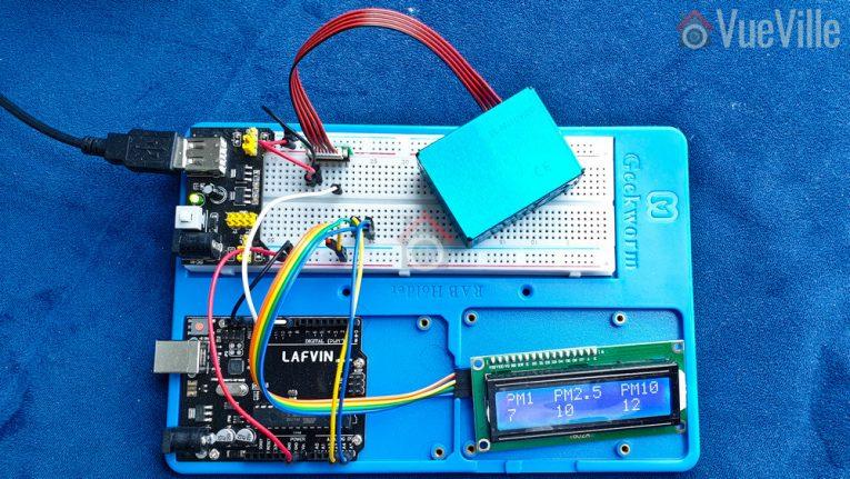 Arduino Air Quality Sensor - VueVille