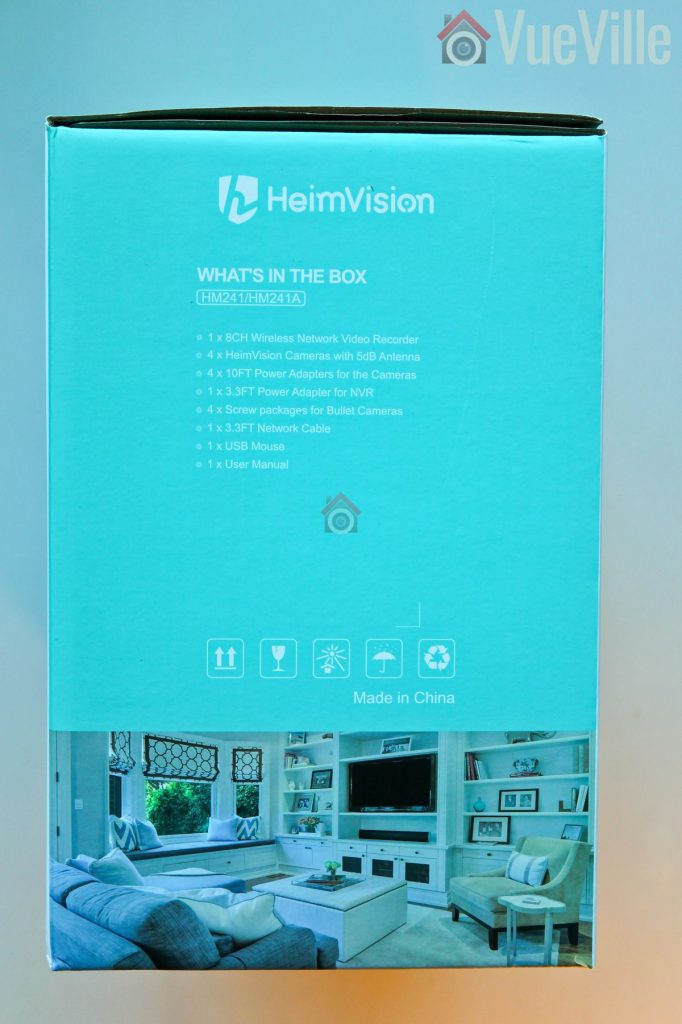 Heimvision Wireless Security Camera System (HM-241) Review - Unboxing3 - VueVille