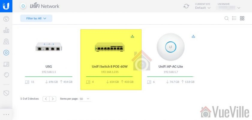 How to Group Wired PoE Security Cameras in a VLAN using Unifi Step 3 001 - VueVille