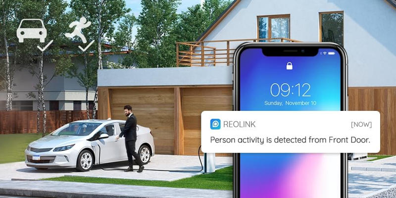 Reolink RLC-810A Smart Person Detection - VueVille