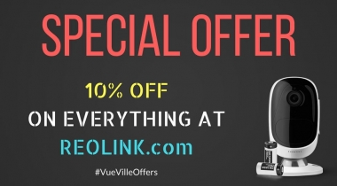 10% off on all Reolink products for 5 days only