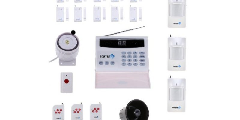 DIY Wireless Home Security System Review – Fortress S02-B