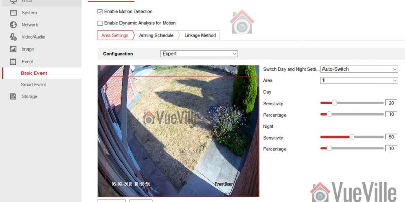 How-to: Hikvision Motion Detection Setup