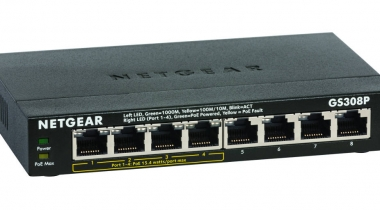 Review: Netgear ProSAFE GS308P 8-Port Gigabit PoE Switch