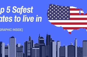 2018's Safest States to Live In – Crime Heat Map of America
