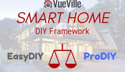 EasyDIY or ProDIY – Introducing the VueVille Smart Home DIY Framework