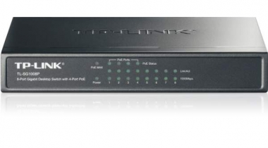 TP-Link TL-SG1008P 8-Port Gigabit PoE Switch Review