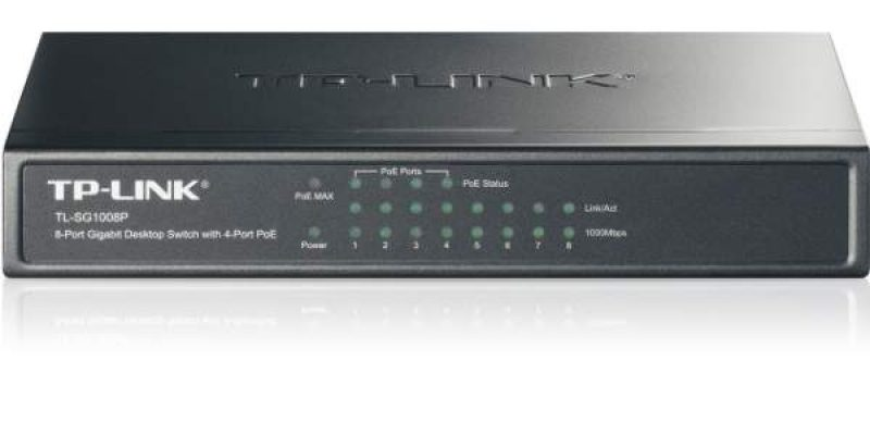 TP-Link TL-SG1008P 8-Port Gigabit PoE Switch Review