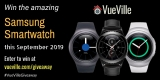 Win a Samsung Gear Smartwatch with VueVille – September 2019